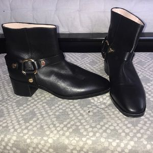 Stuart Weitzman leather ankle boots size 8
